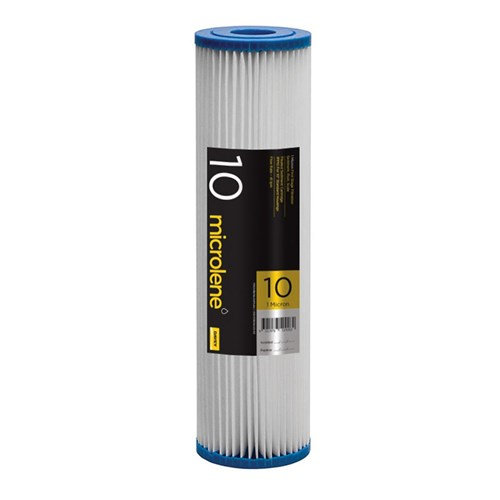 "Davey Filterpure Poly Pleated 1 Micron 10"" Cartridge 1PP10"