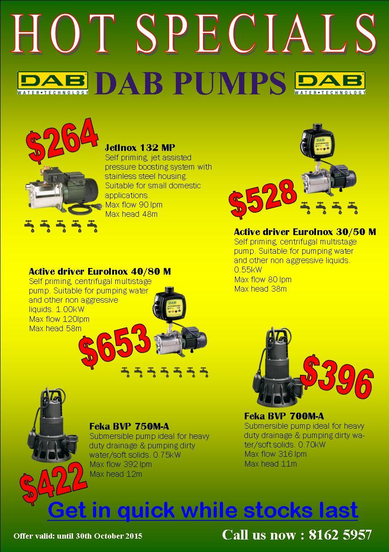 Grundfos Amp Dab Pumps Hot Specials